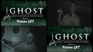 """G.H.O.S.T. Ghost Hunters Of South Tampa """"Voices OFF"""" Pt. 1 Paranormal Investigation"""