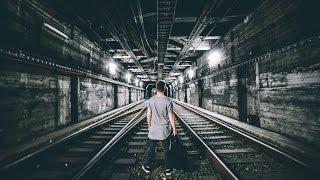 Alone In Abandoned Subway Tunnel