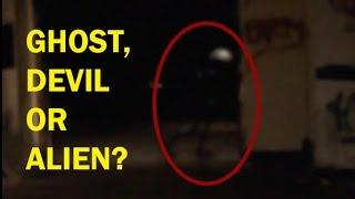DEVIL, GHOST OR ALIEN ? Devil Like Creature Caught On Camera | Shocking Ghost Videos | Scary Videos
