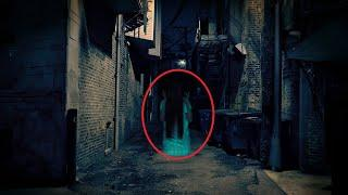Huge Ghost Sighting from An Old Factory!! Real Ghost Caught On CCTV Camera