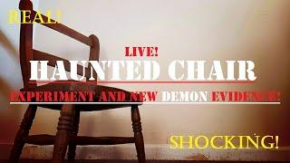 HAUNTED Ghost Chair | Live SPIRIT BOX Experiment | More Shocking DEMON Evidence!