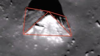 Pyramid and Moon Shape Base On Earths Moon, Jan 2015, UFO Sighting News
