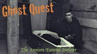Annison Funeral Parlour Hull - Ghost Hunting - Ghost Quest ft. Chris Conway