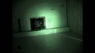 Ghost Video #1 -Residential Basement Video #1 - light anamoly -looks like face