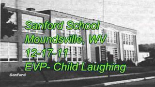 WVPI @ Sanford School  12-17-11 EVP- Child Laughing