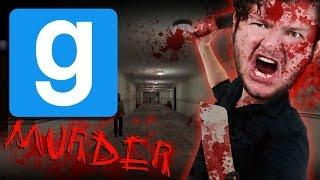 GMod Murder Funny Moments - GHOST HUNTERS! (Garry's Mod)