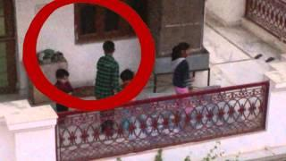 Real Ghost Playing With Kids!!! Rare ghost footage caught on tape! Paranormal activity