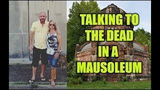 Spirits are TALKING inside this Mausoleum. Hear it. Wonder Box & SCD-2.