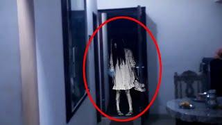Ghost In-House!! Eerie Ghost  House CCTV Footage!!