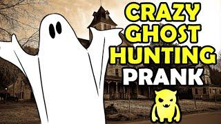 Crazy Ghost Hunting Prank - Ownage Pranks