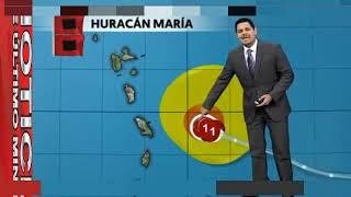 HURACAN MARIA, ULTIMA HORA HURACAN MARIA, NOTICIAS DE HOY DE SEPTIEMBRE 18 2017