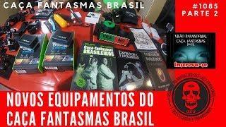 Novos Equipamentos Caça Fantasmas do Caça Fantasmas Brasil #1085 Parte 2