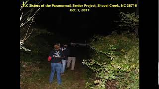 As investigator and guests are walking listen to the spirits reply.