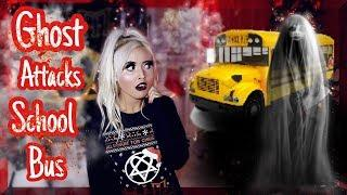 GHOST ATTACKS A SCHOOL BUS!! TRUE SCARY STORY!