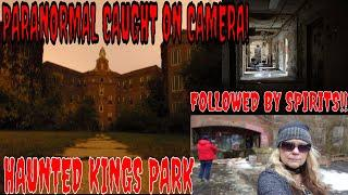 ABANDONED & HAUNTED (KINGS PARK PSYCHIATRIC CENTER) LOTS OF PARANORMAL!!