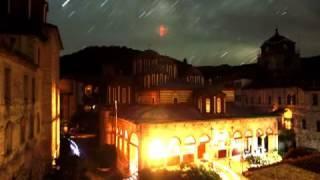Θεϊκό σημάδι στο νυχτερινό ουρανό του Αγίου Όρους;;Βίντεο που προκαλεί δέος!!