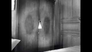 Poltergeist, Spirits, Ghost, Shadow open cabinet door. Paranormal Vlog.