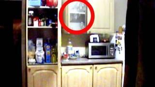 Paranormal Activity Caught on Tape. More poltergeist Activity. October 2011. Part 2