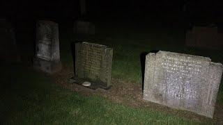 Real HAUNTED Graveyard | FRIDAY 13th Ghost Hunt | SATANS Cemetery