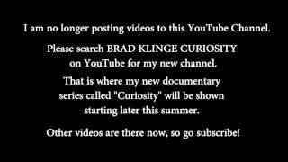 SPECIAL ANNOUNCEMENT FROM BRAD KLINGE