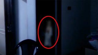 A Shadow Moving From One Room To Another Caught On Tape!!