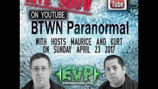 BTWN Vidcast Featuring Eric and Shawn from Ectovision paranormal