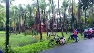 Boy Crash With Ghost!   Unbelievable Footage Caught on Camera, Real Ghost Scary Video