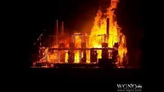 Ghostly News The La Beau Mansion Fire