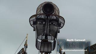 NCP see the AWESOME Man Engine in Cornwall!