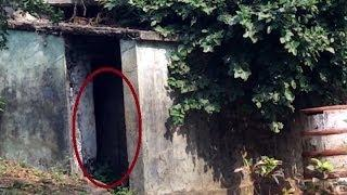 Ghost caught on camera at public old toilet