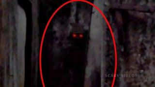 Unknown Figure  Accidentally Caught on Camera !! Real Ghost Scary Videos