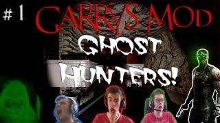 Garry's Mod: Horror Map | Ghost Hunters! Mines Take /2 | Part #1 | Biggest Girly Scream?