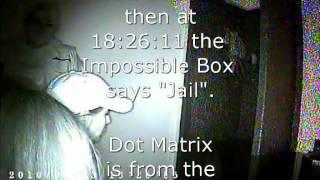 Old Haunted Lavaca County Jail using the Ghost Hunter Apps Impossible Box