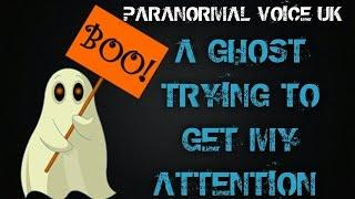 Paranormal Voice | MY GHOST EXPERIENCE |Spirit Box Session