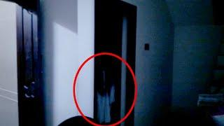 Real Ghost Passing in Front of the House Caught on Cctv Camera !! Scary Videos