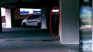 Ghost Caught On Car Working Area | Most Scary Ghost Video | Real Ghost Caught On Camera
