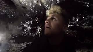 Deep Underground Cave Crawled In! Found Little Girl