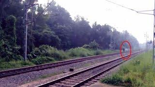 Ghost Caught On Railway Track | Paranormal Activity | Ghost Caught On Tape | Haunted House