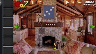 Tiny Mountain Lodge Escape walkthrough Escape007Games.