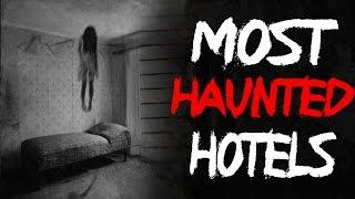 Top 5 Most Haunted Hotels in North America - Real Haunted Hotels @FrostmareTV (#ghost #scary)
