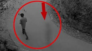 Most Shocking Ghost CCTV Footage | Ghost following a Man Caught on CCTV Camera | Scary Ghost Videos