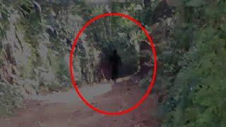 Black Shadow Passing By Caught ON CCTV Camera!!