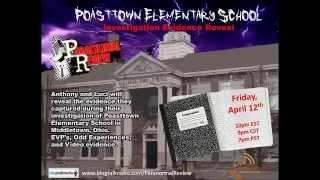 Paranormal Review Radio - Poasttown Investigation Evidence Reveal