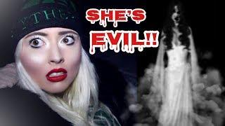 Don't walk in the snow after midnight.. The snow woman (evil spirit)
