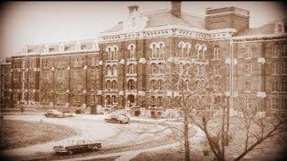 Real Life Ghost-paranormal activity Insane Asylum Part 1
