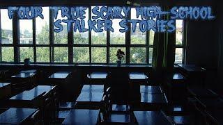 4 True Scary Highschool Stalker Stories (Ft. The Grim Reader)
