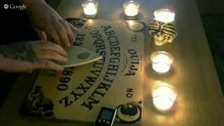 REAL ZoZo Ouija Board - Contacting OUIJA Demons