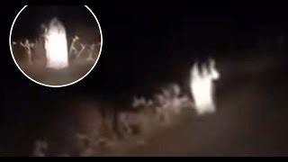 Real Ghost Spotted At Night! | Paranormal Activity Caught On Tape | Scary Ghost Haunted In Video