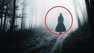Huge Black Ghost Caught On Camera At Night!! Real  Videos Of Ghosts