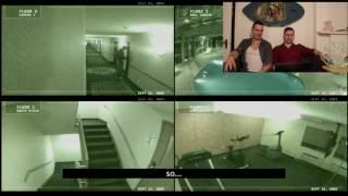 GHOST SCREAMING IN HAUNTED HOTEL (CCTV FOOTAGE) - Hilarious Haunted Review